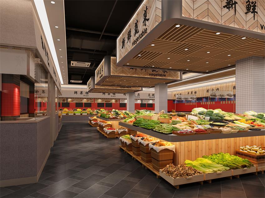 针对大型超市装饰技巧需要注意的事项